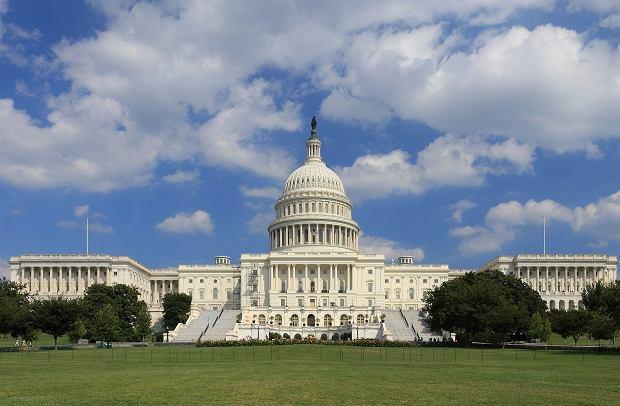 Kapitol w Waszyngtonie, siedziba Kongresu USA