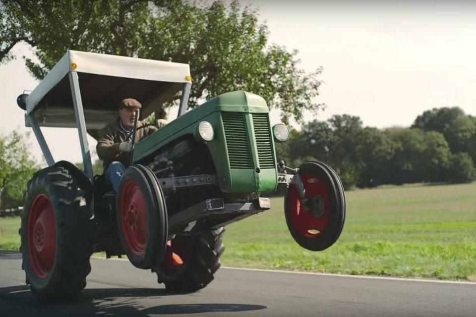 Rajdowy traktor