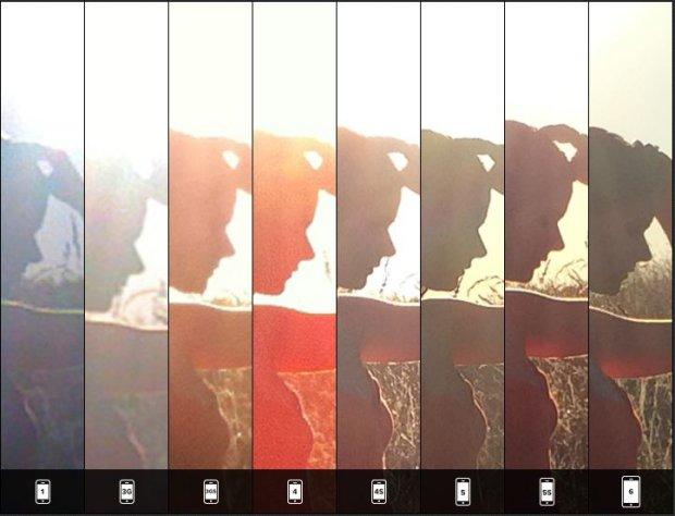 Zestawienie zdjęć pod słońce