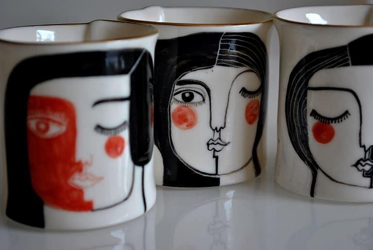 Filiżanka z kolekcji 'ARTespresso' Karoliny Szeląg.