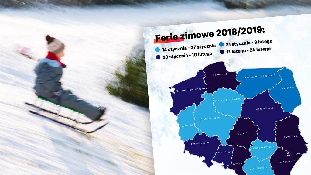 Ferie zimowe 2019. Kiedy wypada zimowa przerwa od nauki?