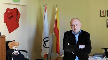 Grzegorz Wysocki w kwietniu 2018 r., jako ówczesny wiceburmistrz Ochoty