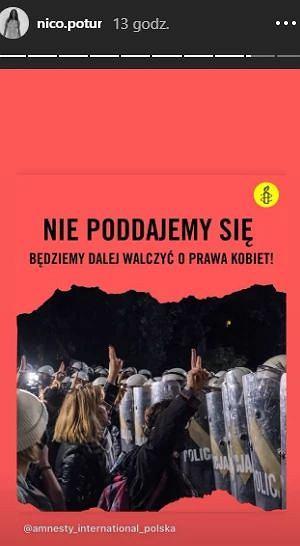 Nicole Poturalski wspiera kobiety w Polsce
