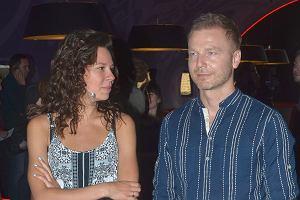 Krystian Wieczorek z żoną