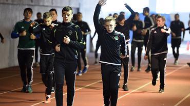 Trening piłkarzy Radomiaka