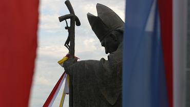 Pomnik Jana Pawła II w Sandomierzu (Zdjęcie ilustracyjne)