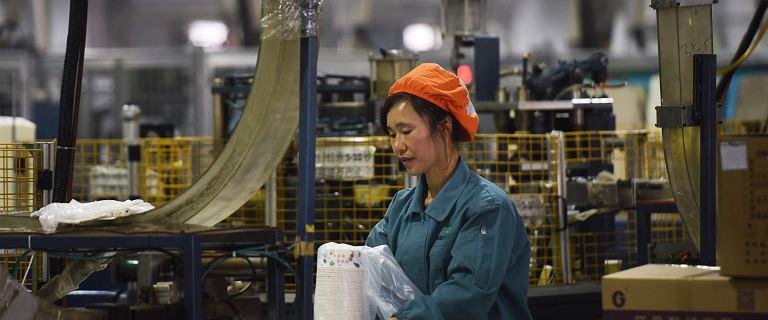 Chiny z najwolniejszym wzrostem gospodarczym od niemal 30 lat