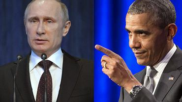 Władimir Putin, Barack Obama