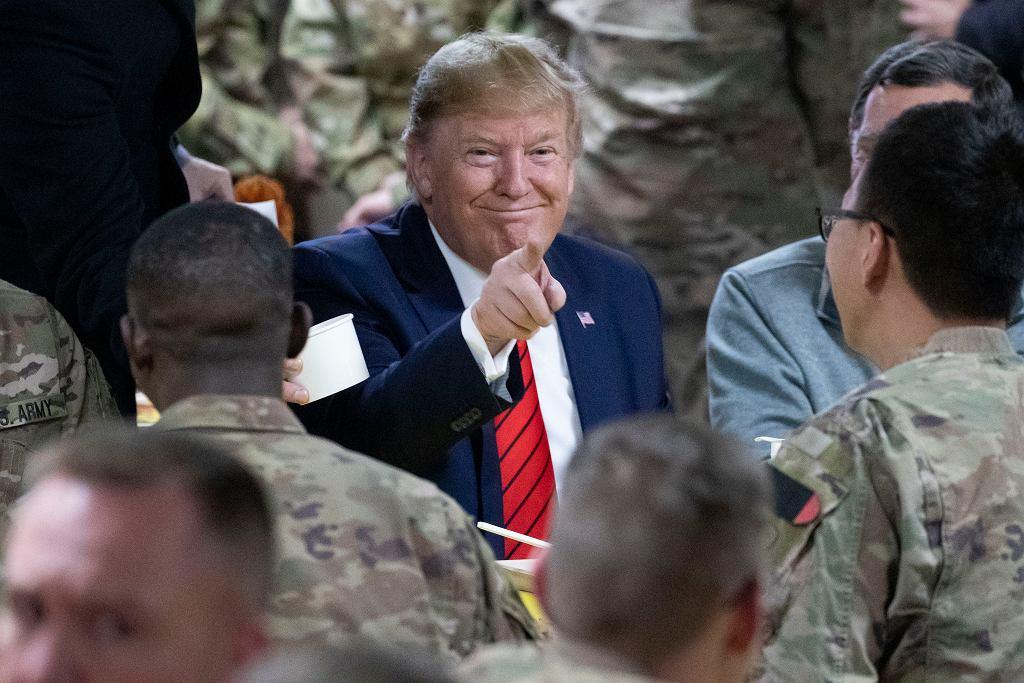 Trump w Afganistanie