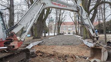 Remont a parku w Muzeum-Zamku w Łańcucie