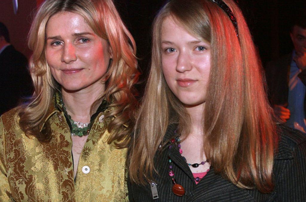 Grażyna Błęcka-Kolska z córką