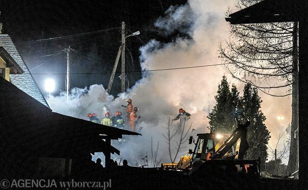 Wybuch gazu w Szczyrku.