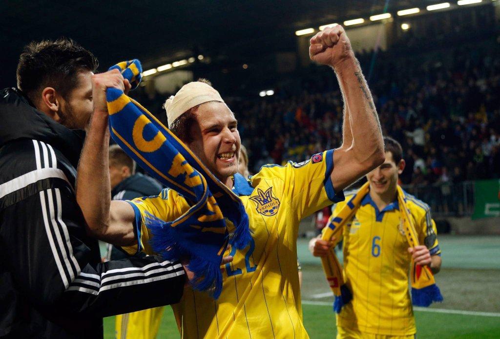 Ukraina na Euro 2016