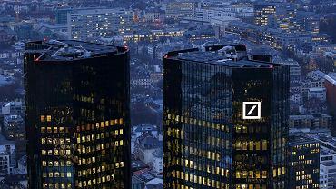Główna siedziba Deutsche Bank we Frankfurcie