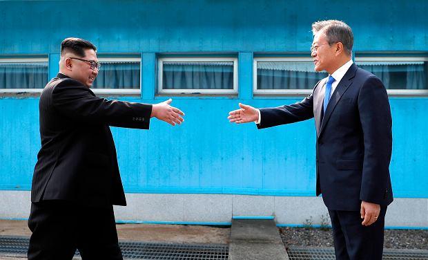 Kim Dzong Un przekroczył granicę Korei Północnej