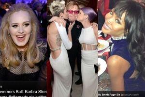 Adele, Miley Cyrus, Elton John, Kelly Osbourne, Naomi Campbell