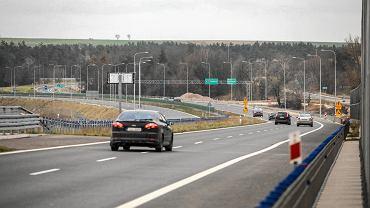 Brzegi, grudzień 2019. Most na ekspresowej drodze nr 7