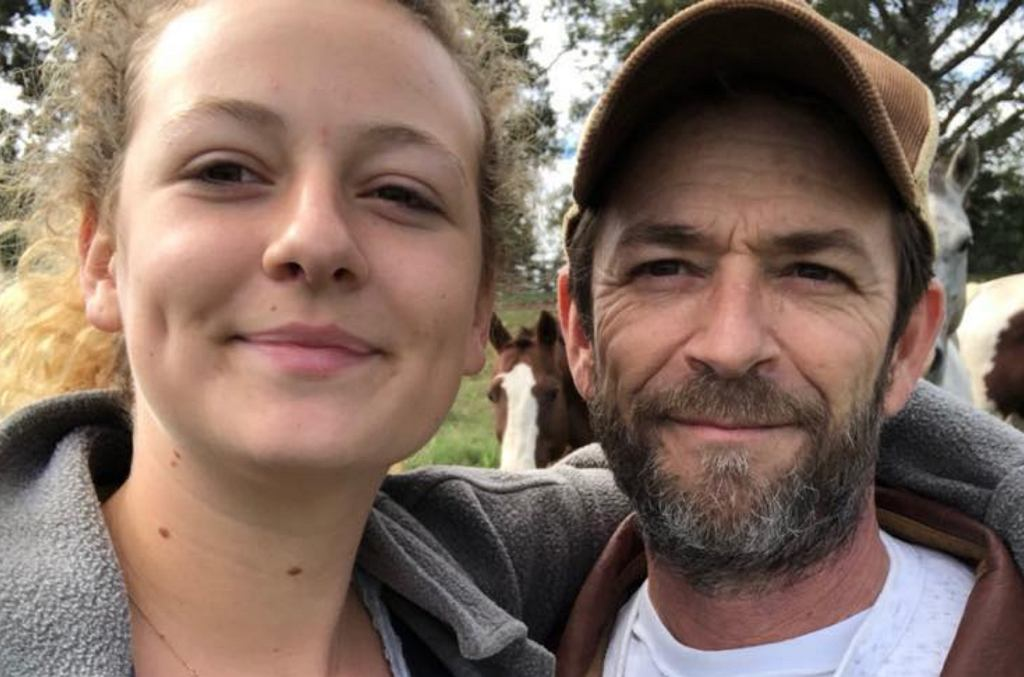 Luke Perry, Sophie Perry