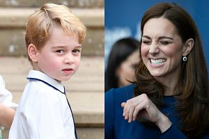Kate Middleton i książę George