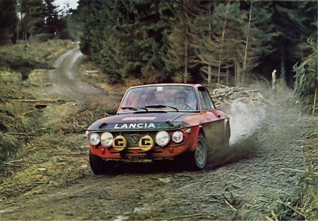 Rajdowa Lancia Fulvia