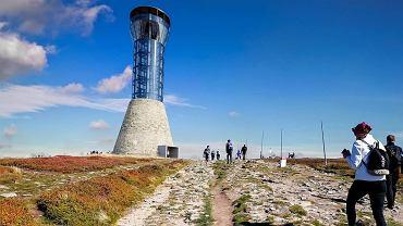 Projekt wieży widokowej na Śnieżniku