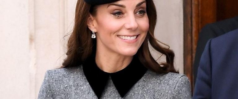 Księżna Kate pierwszy raz od 7 lat na spotkaniu z Elżbietą II. Zachwyciła stylizacją