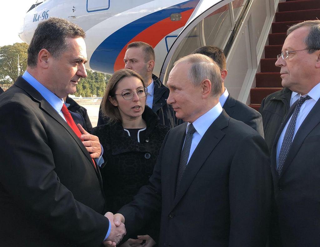 Władimir Putin i Izrael Kac