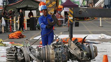 Prace na miejscu katastrofy Boeinga 737MAX