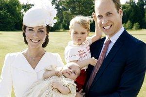 Oficjalne zdjęcia z chrztu księżniczki Charlotte