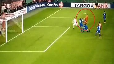Robert Lewandowski w meczu przeciwko Hoffenheim