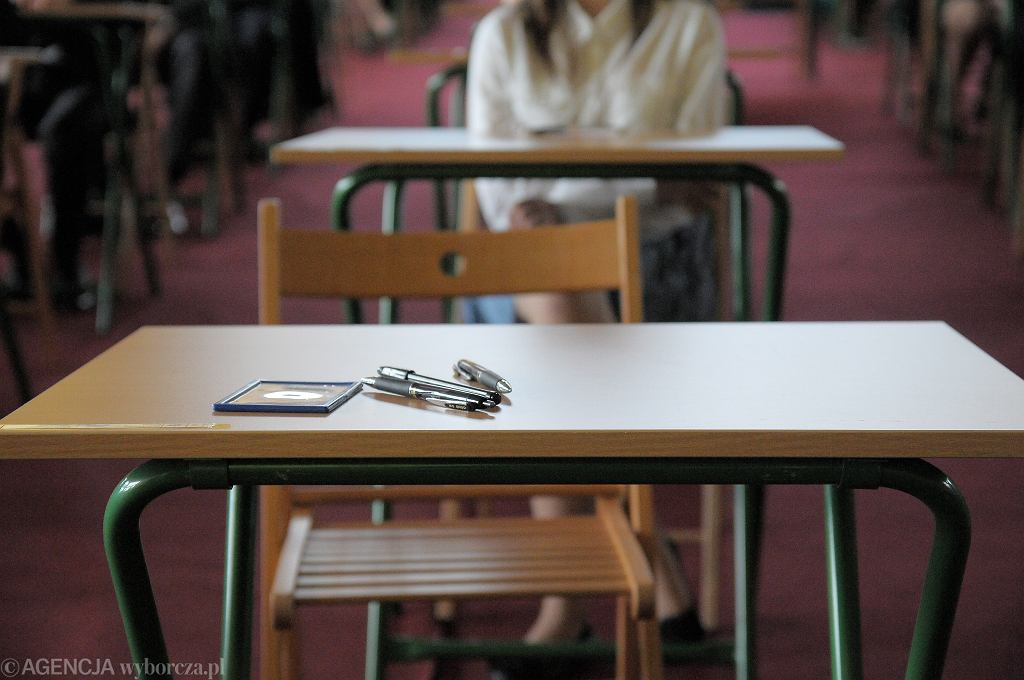 Egzamin gimnazjalny w Olsztynie