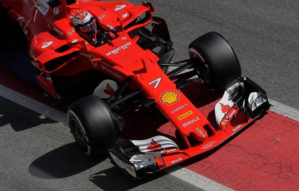 Kimi Raikkonen w Ferrari