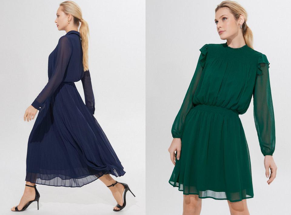 Eleganckie sukienki z Mohito