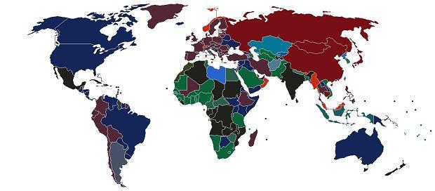 Kolory paszportów na świecie