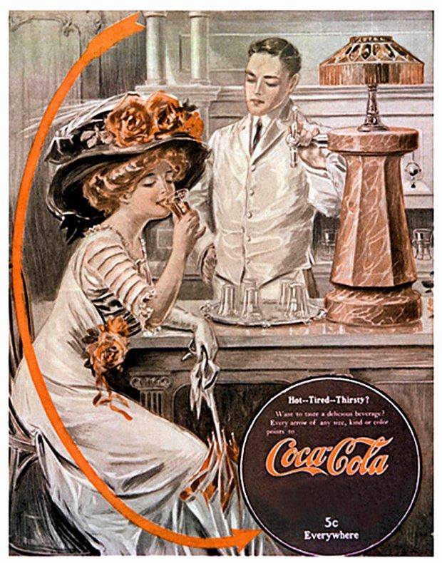 Reklama z początku XX w.
