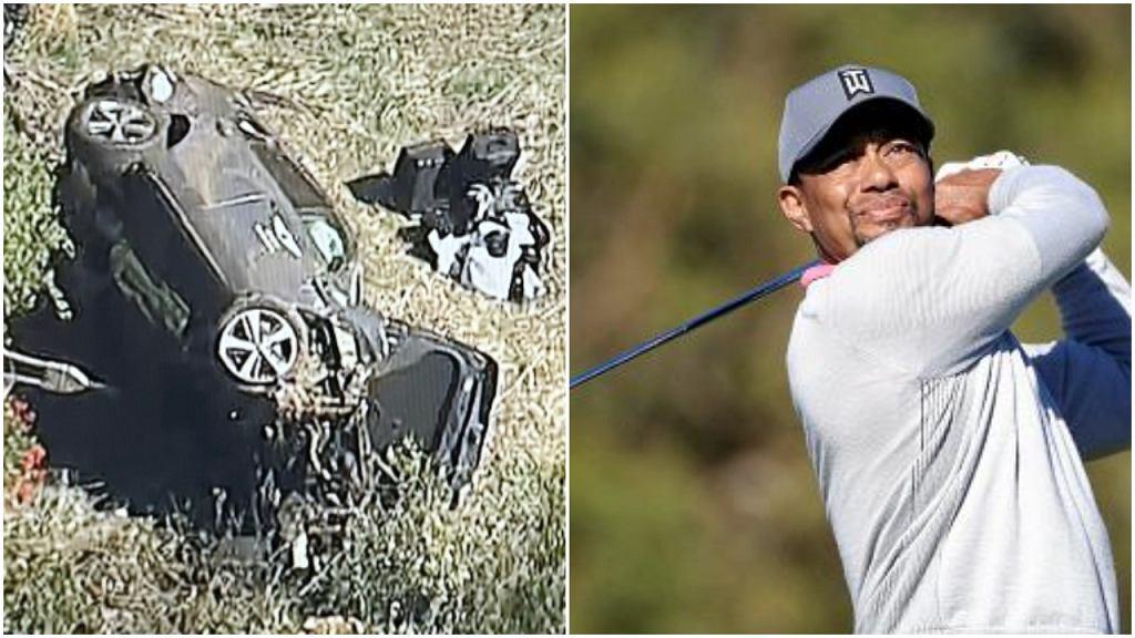Tiger Woods miał wypadek samochodowy w Los Angeles