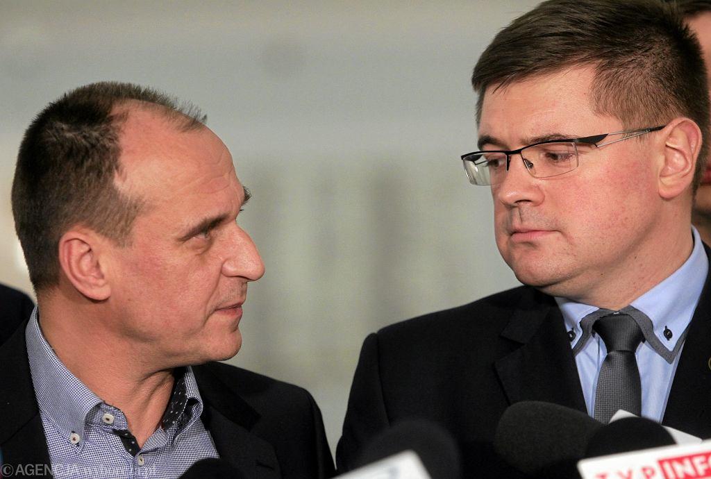 Paweł Kukiz i Tomasz Rzymkowski
