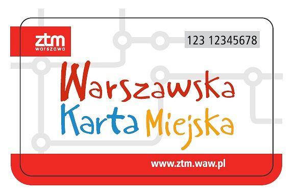 Znalezione obrazy dla zapytania warszawska karta miejska