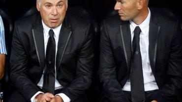 Carlo Ancelotti i Zinedine Zidane
