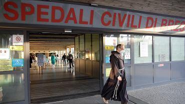 Pandemia koronawirusa. Szpital Brescia Spedali Civili. Włochy, 16 marca 2020