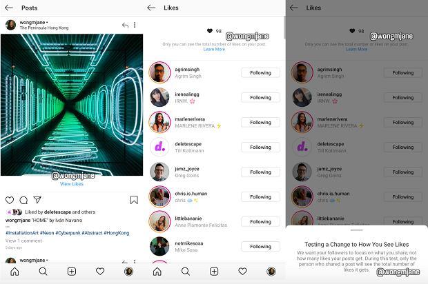 Licznik lajków zniknie z Instagrama? Wyciekła testowa wersja serwisu