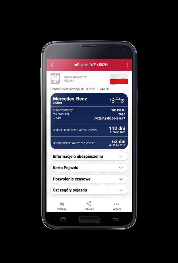 Aplikacja mPojazd