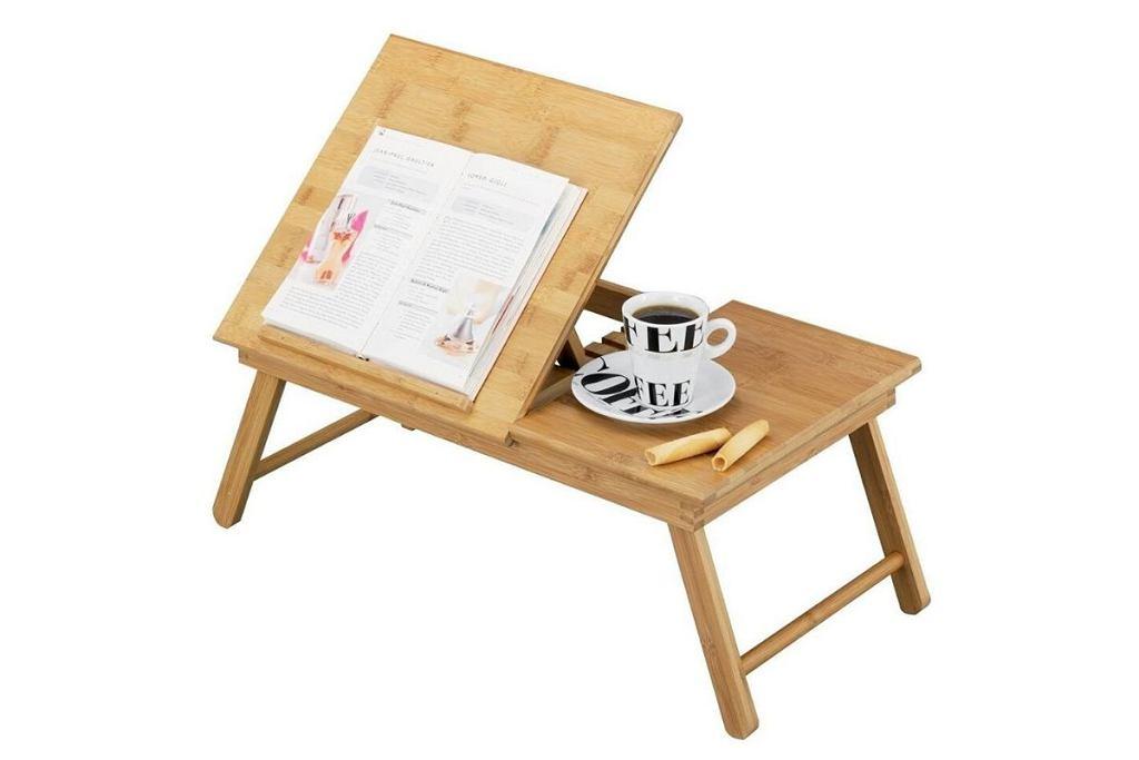 Drewniany stolik śniadaniowy Zeller.