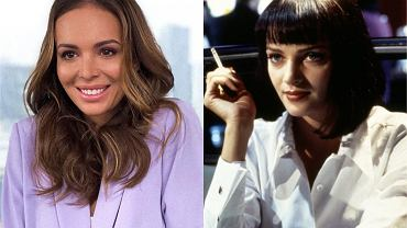 Anna Wendzikowska jak Uma Thurman w 'Pulp Fiction'