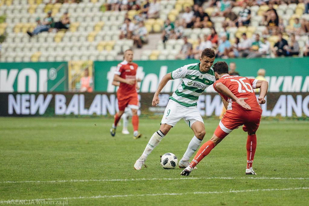 Lechia Gdańsk - Miedź Legnica 2:0. Patryk Lipski