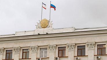 Budynek parlamentu Krymu w Symferopolu