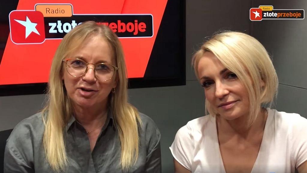 Marzena Rogalska i Ania Wyszkoni