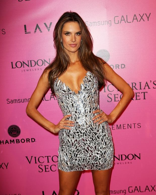 The Victoria's Secret Fashion Show - After Party in NYC.  Pictured: Alessandra Ambrosio