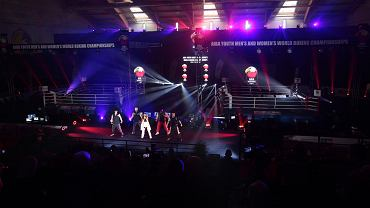 Kielce, 13.04.2021. Młodzieżowe mistrzostwa świata kobiet i mężczyzn w boksie