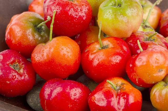 Acerola stanowi bogate źródło witaminy C